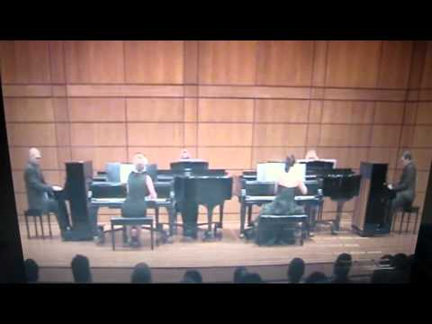 AMAZING! 6 Concert Pianists performing together on the same stage for the first time!