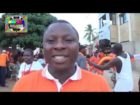 Un militant à Aneho: la population doit aller voter massivement pour l'alternance politique au Togo
