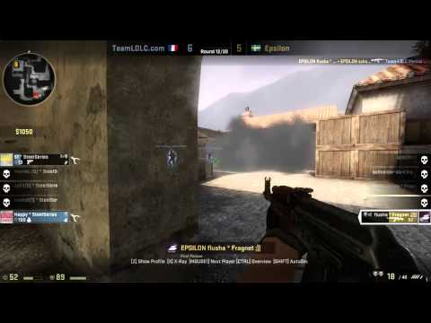 RAW Match Highlights | Epsilon vs Team LDLC BO2 2/3 Wolves | Map 1 - DreamHack Summer 2013 CS:GO