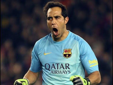 Claudio Bravo FC Barcelona 2014-2015