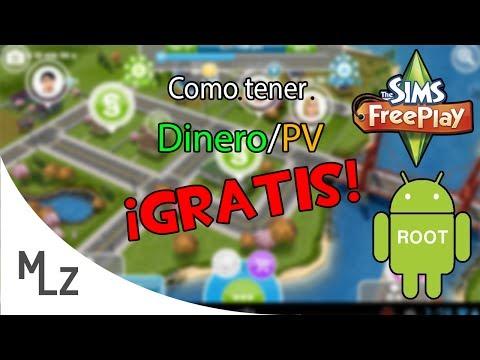 Tutorial | Como tener dinero/PV infinito en Los Sims Gratuito/Freeplay 2014 *ROOT*
