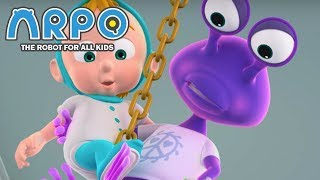ARPO The Robot For All Kids - Space Alien Adventure   Compilation   Cartoon for Kids