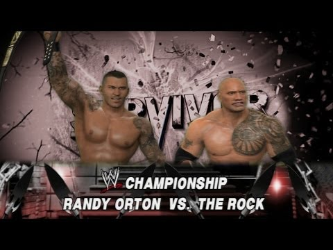 WWE 2K14: Randy Orton vs The Rock - Survivor Series - (WWE Championship...