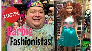 Barbie Fashionista Tall Doll Review #29 Terrific Teal✨