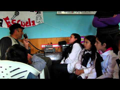 RADIOAFICION EN URUGUAY CX1SI GEO-LA RADIO EN LA ESCUELA 12 -10-2012