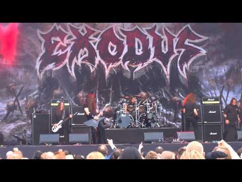 Exodus - Body Harvest Live @ Tuska Open Air, Helsinki 26.6.2015