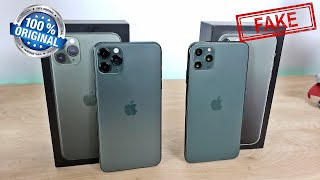 Goophone 11 Pro Max Version 3 [VS] REAL iPhone 11 Pro Max - Midnight Green!