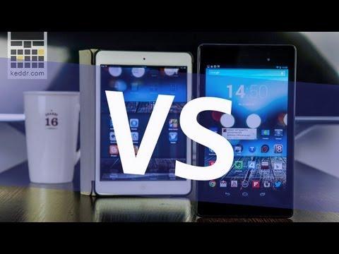 Asus Nexus 7 (2013) vs iPad mini - Сравнение Производительности. Многозадачность и Браузеры
