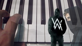 Alone / Alan Walker / Piano Tutorial / Notas Musicales / Cover