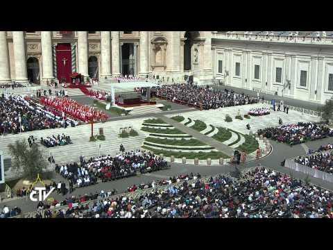 2014 04 13 CDR Domenica delle Palme - Papa Francesco