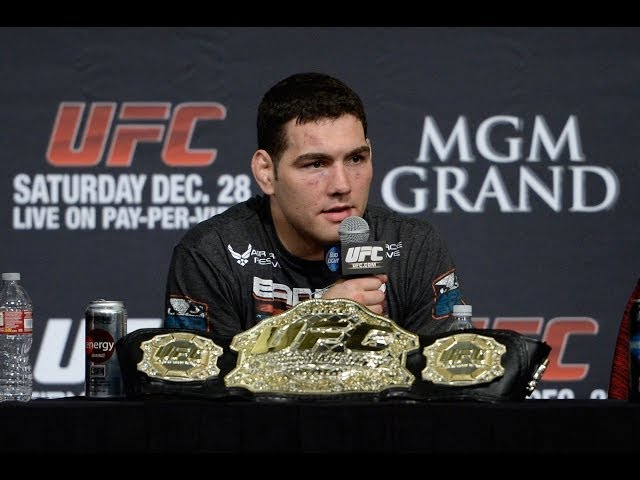UFC 175: Weidman vs Machida - Post-Fight Press Conference