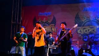 Ashay ashay bose achi | Telephone | Pota | Maddox square Durga puja 2014|