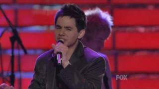 Клип David Archuleta - Apologize ft. OneRepublic (live)