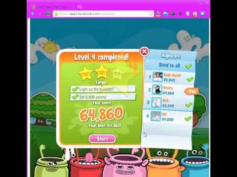 Papa Pear Saga Level 1-5 (booster DEMO at Level 5)