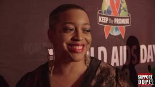 Support The Dope Radio Interviews Jermaine Dupri, Sandy Redd, Frankie J at Chicago World AIDS Day