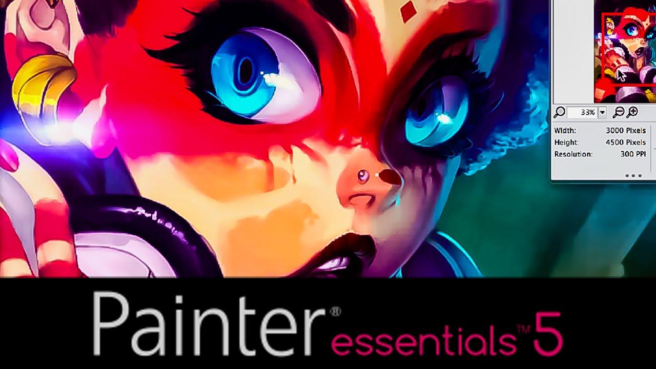 Painter essentials 5