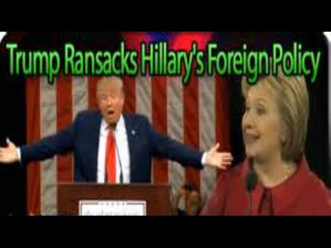 Donald Trump Foreign Policy full speech Breaking News April 27 2016