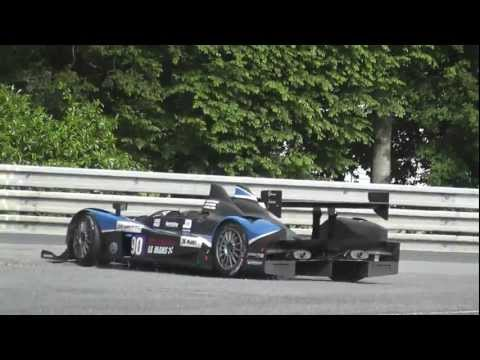 journee test 24 heures le mans 2012 crash et best of