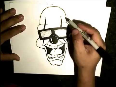 Drawing a Clown By WIZARD