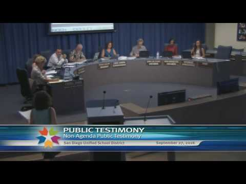 09/27/16 Board of Education Meeting