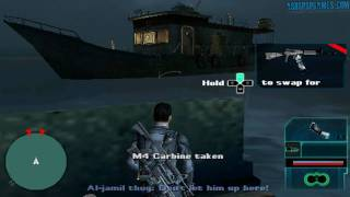 Syphon Filter_ Logan's Shadow - PSP - #01-3. Cargo Hold Five - Ocean's Five [1/2]