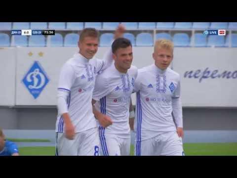 U-19. ДИНАМО - Олімпік 6:0. Огляд матчу