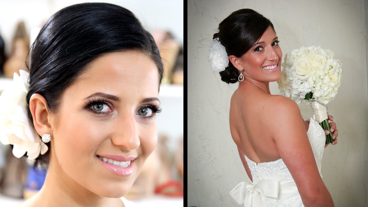 How To Do Bridal Makeup Tutorial : Bridal Makeup Tutorial! - YouTube