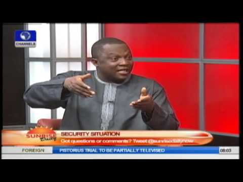 Sunrise Daily: John Oloyede Speaks On The Security Situation In Nigeria
