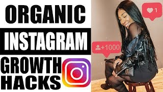 How to Get Instagram Followers Organically 2019 (Grow from 0 to 5000 followers FAST!)