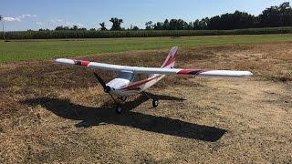 First Flight & Review: E-flite Apprentice S 15e - Crashed Into A Cornfield