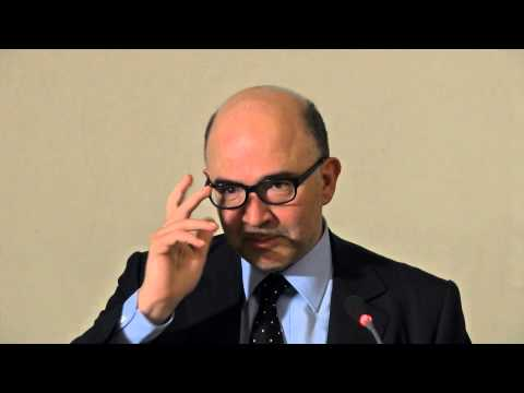 Pierre Moscovici: Economic and political challenges for Europe