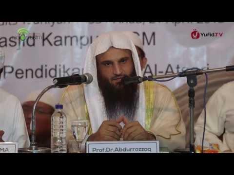 Tabligh Akbar Ulama Madinah: Penyihir Tidak Akan Pernah Beruntung - Syaikh Abdurrazzaq Al-Badr