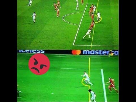Cristiano Ronaldo Offside Goals vs Bayern Munchen