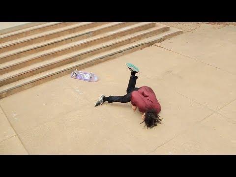Skateboarding Bails Montage