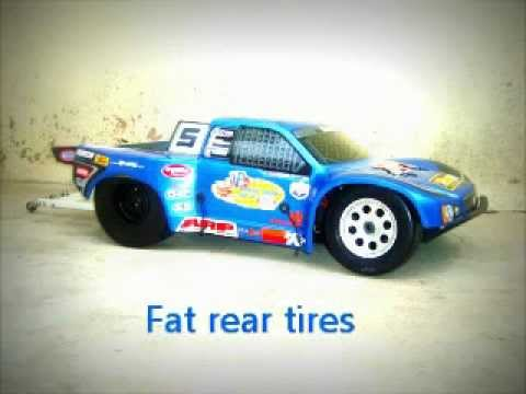 Baja HPI 5SC 2 speed DRAG RACE 30.5cc long rod nitromethano - 7