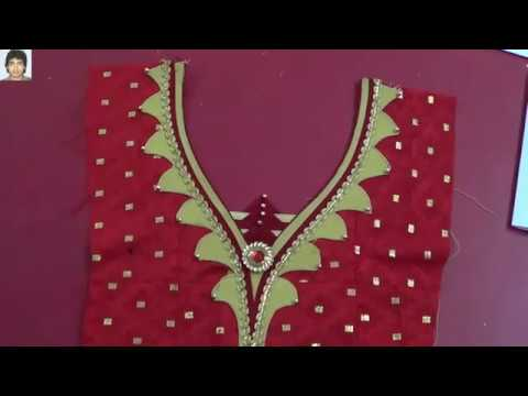 Creative and very latest neck design | kurti ,kameez and blouse etc pattern making with stitching