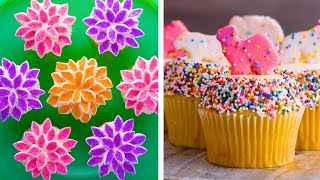 12 Amazing Cupcake Decorating Hacks to Make You Look Like a Pro | Dessert Recipe Ideas by So Yummy