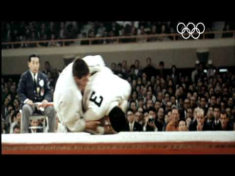 The first Olympic judo champion in the open category - Antonius Geesink - Tokyo 1964 Olympic Games Image 1