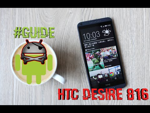 [GUIDE] Root. Add Custom Recovery & Unlock Bootloader - HTC Desire 816 Virgin Mobile & International