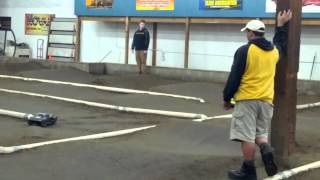 Tacoma RC Raceway - Awesome 9 yr old in 1st