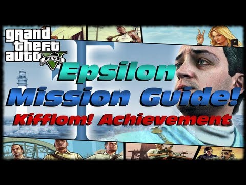 GTA 5 Epsilon Complete Story Mission Guide! How To Get The Kifflom! Achievement Trophy on GTA V!