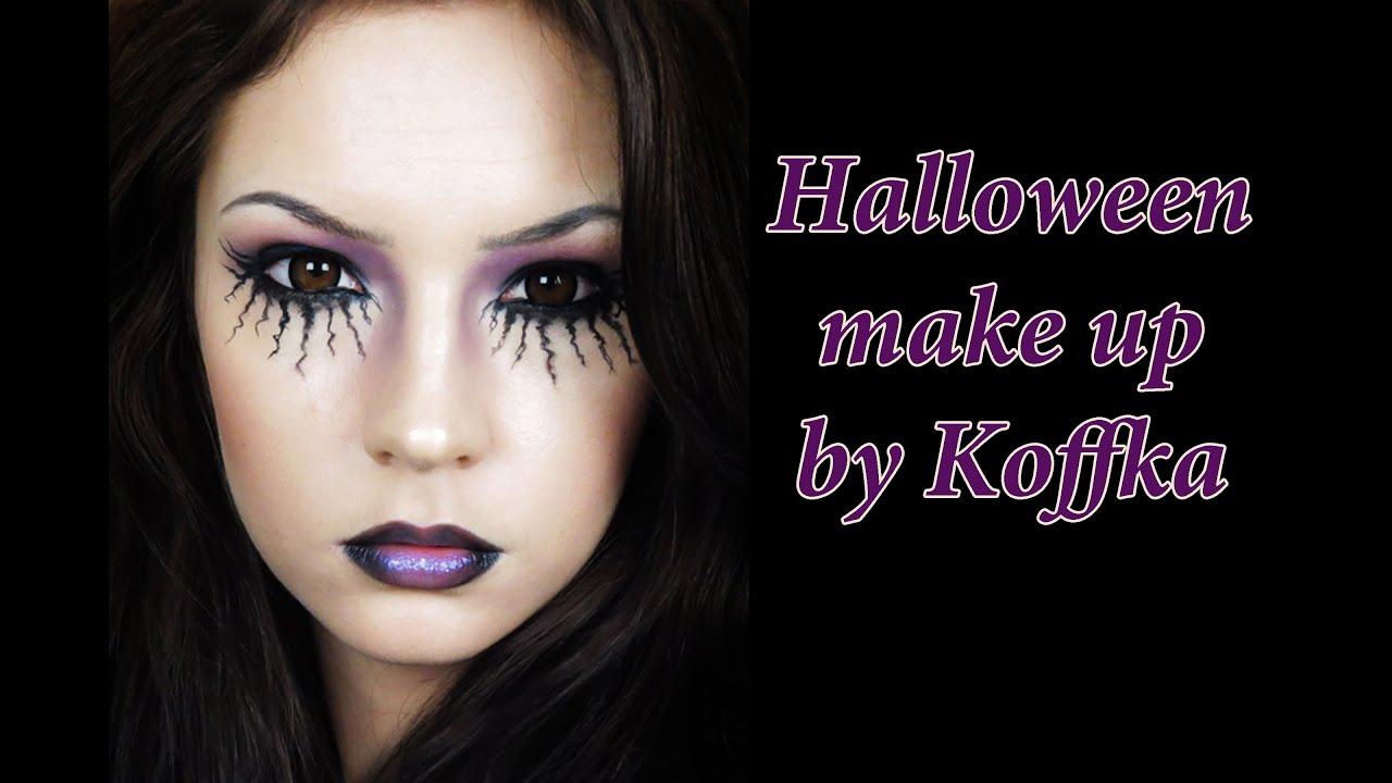 Макияж на ведьмы на хэллоуин