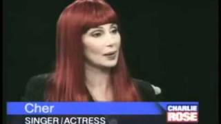 Cher - Charlie Rose Show (1995) Part 1