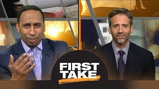 Stephen A. loses it when Max blames him for Markelle Fultz
