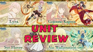 Astrea Record: Lost Justice (Part 2) UNIT REVIEW! | DanMachi Memoria Freese