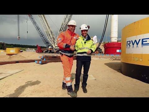 Bilfinger Marine & Offshore Systems   RWE   Vibrationsrammen - Vibro Piling