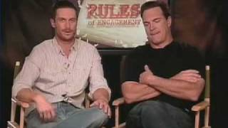 Patrick Warburton And Oliver Hudson: Monique Soltani Interviews Rules Of Engagment Stars