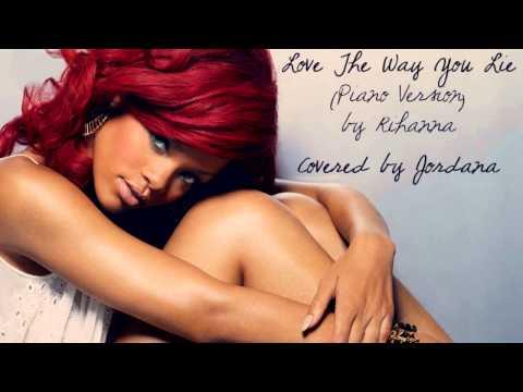 [Cover] Love The Way You Lie : Part II (piano version) - Rihanna thumbnail