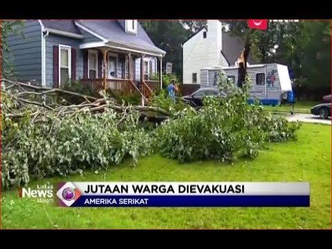 Pasca Hantam Calorina Utara, Badai Florence Terjang Virginia, Amerika Serikat - LIM 18/09