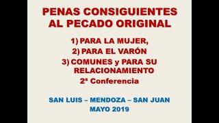 PENAS CONSIGUIENTES AL PECADO ORIGINAL P. Bojorge Parte 2